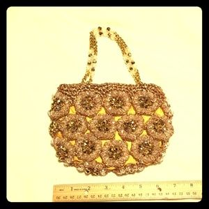 Vintage Marcus Brothers of Miami beaded Purse
